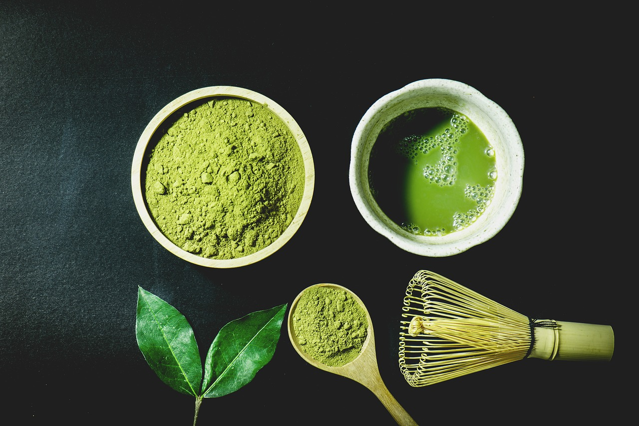 Matcha tea - příprava a účinky