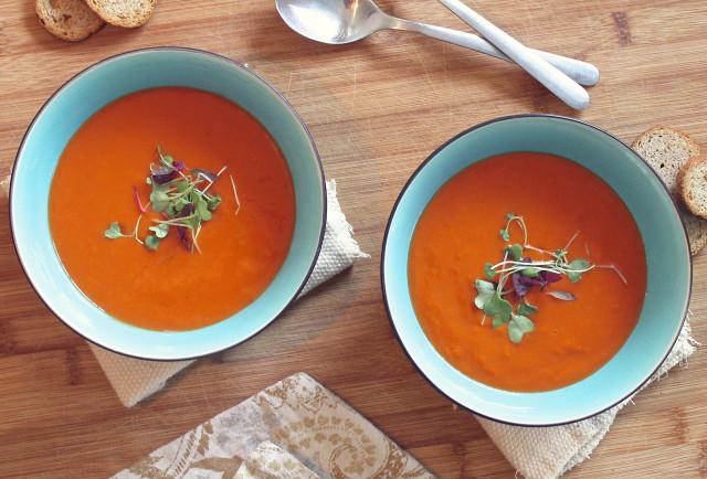 Rajčatová polévka - recept